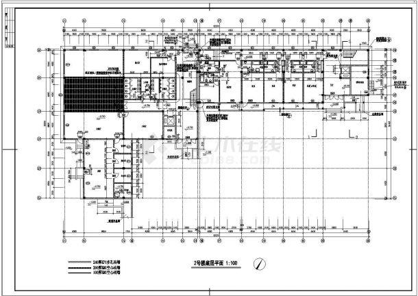 太湖古建筑全套建筑设计施工图-图二