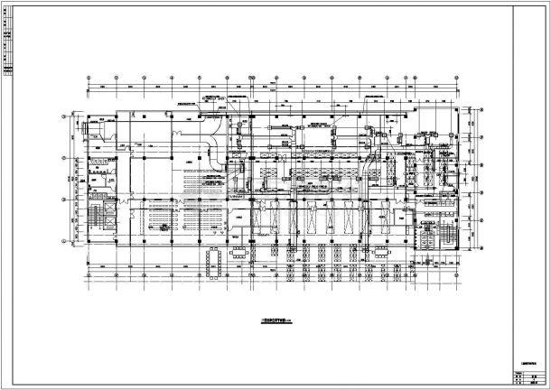洁净厂房全套暖通设计施工图-图二
