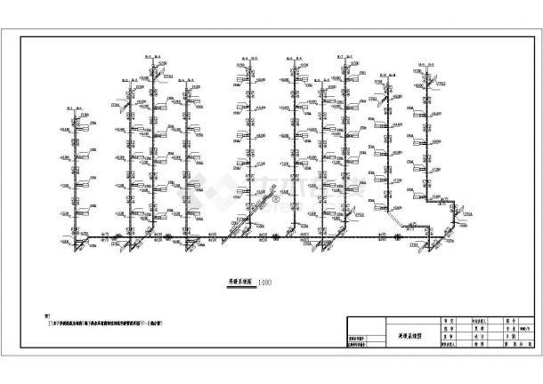 经典地暖采暖系统设计施工图-图一