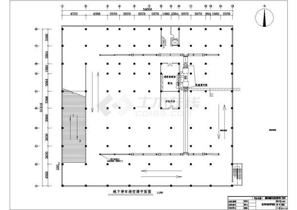 某宾馆给排水设计施工CAD图-图一