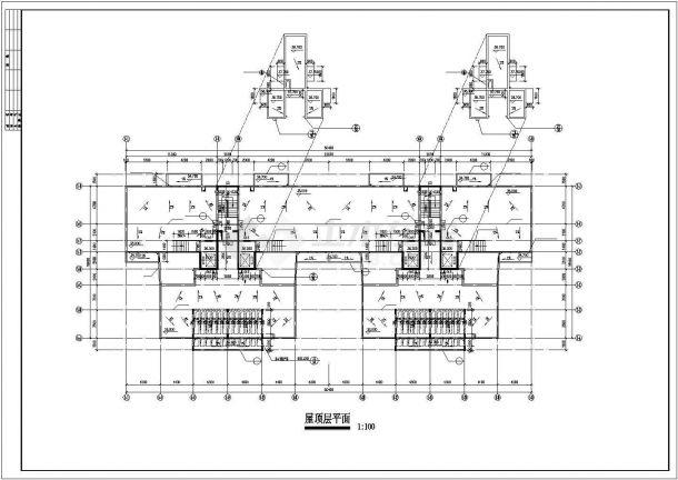 扬州市熙晨小区11层框架结构住宅楼建筑设计CAD图纸(含夹层和效果图)-图一