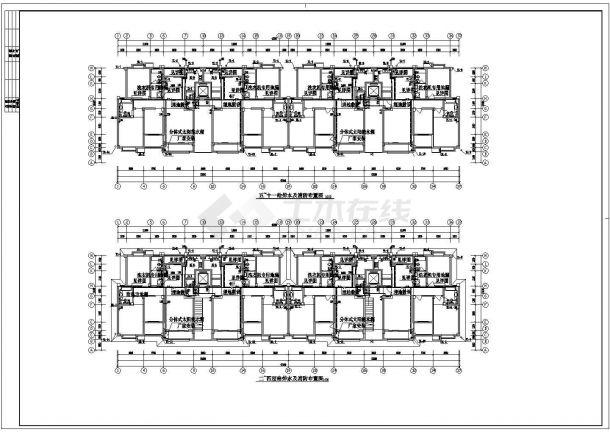某地上十一层建筑给排水图纸(共7张图纸)-图二