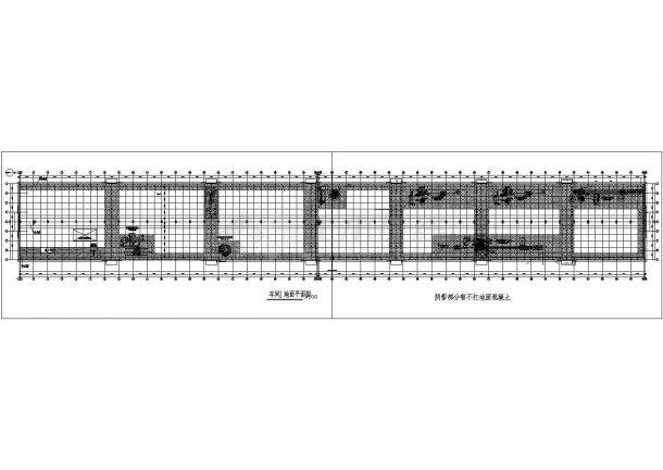 某工厂厂区给排水管网设计图纸-图二