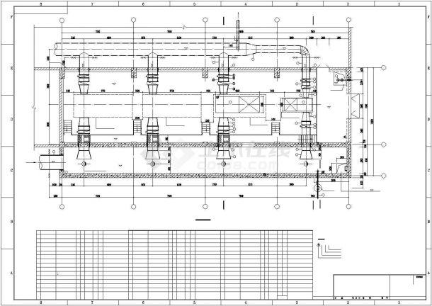 电厂循环水泵房安装图-图二