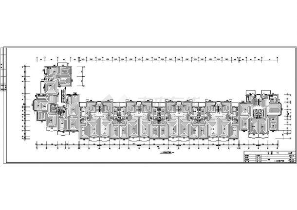 低温地板辐射采暖设计施工图-图二