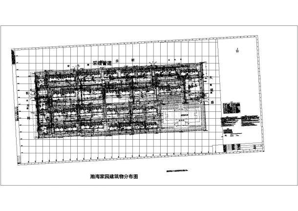 某小区管线综合平面图-图一