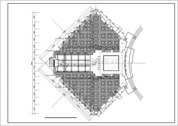 [重庆]城市滨河公园园林景观工程施工图(包含彩平总图)-图二
