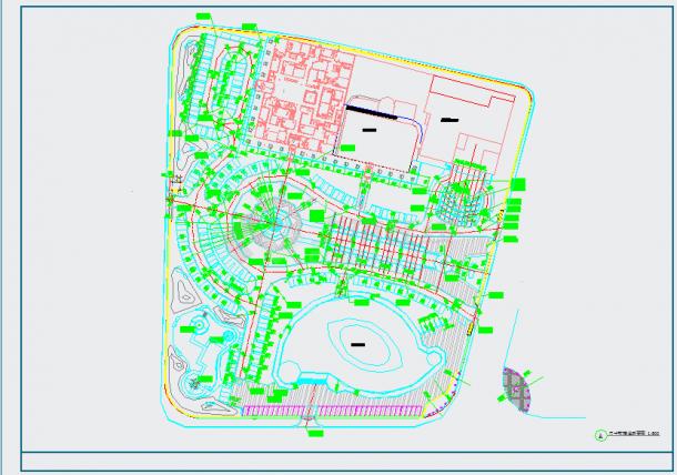 [山东]城市广场园林景观工程施工图-图二