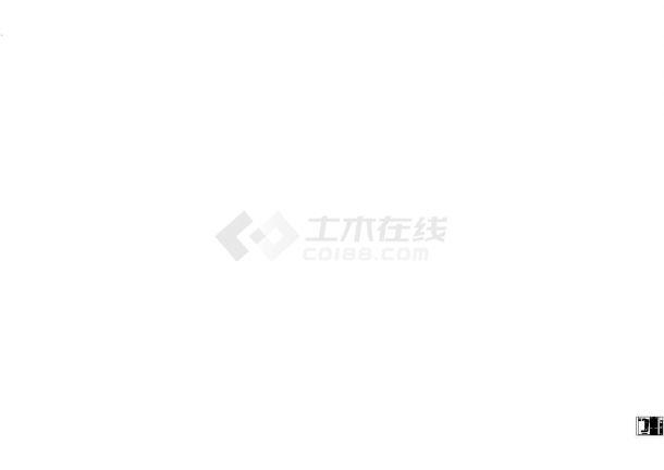 别墅庭院园林景观工程施工图-图二