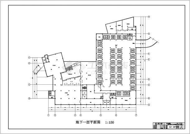 昆明市某五层综合办公楼空调系统毕业设计-图一