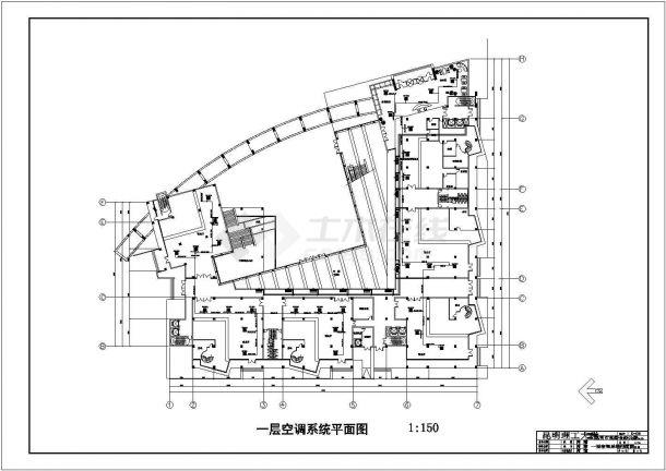 昆明市某五层综合办公楼空调系统毕业设计-图二