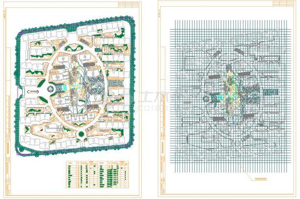小区园林绿化设计图纸(41个CAD文件)-图二