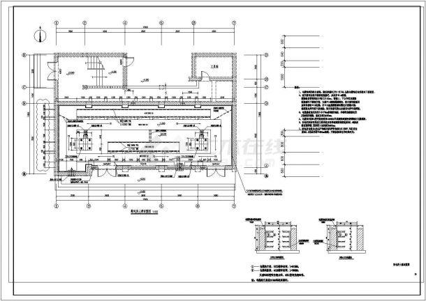某5层砖砌建筑改造设计图纸--建筑施工图-图二