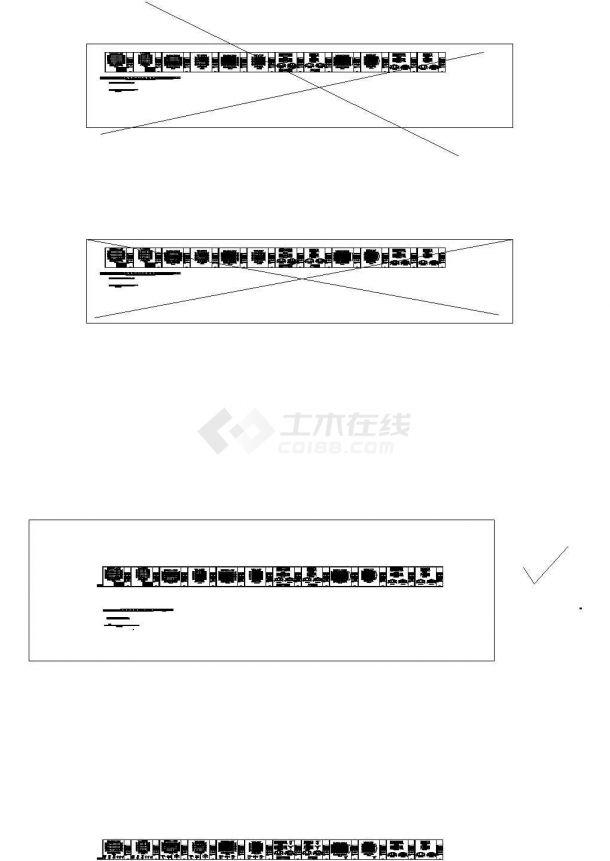 轻型桁架结构厂房建筑设计图-图一