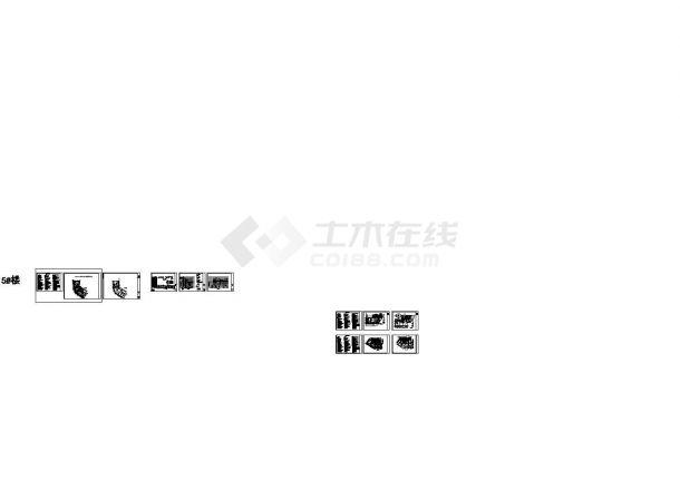 安阳县某十一层农贸安置房拆迁工程给排水设计施工图-图一