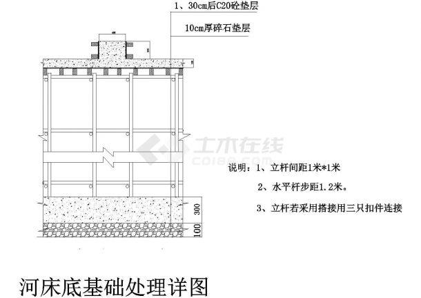 市政桥梁模板脚手架专项施工方案-图一