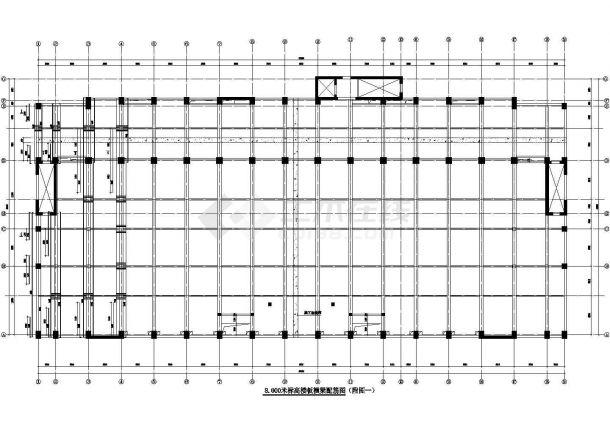 某举重、篮球馆训练馆工程中预应力混凝土结构的设计和施工-图一