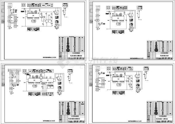 92DZ1单电源单台消火栓泵电气图纸-图一