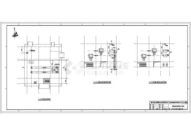 新疆某电厂循环水泵房、油泵房、空压机房采暖通风图纸-图一