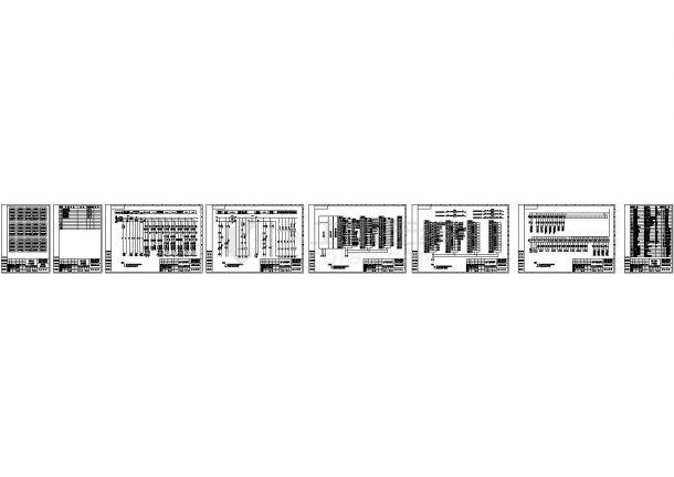 武汉浦项树脂控制系统电气控制图设计-图一