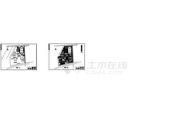 德清县某职业学校园林规划设计图-图一