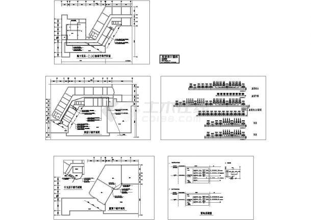 某四层酒店电气设计图纸-图一