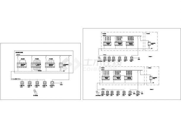 楼宇智能照明系统原理图设计-图一