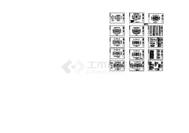 某二十一层弱电照明系统设计图-图一