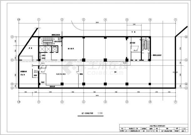 某11层大厦给水排水全套施工图(优秀毕业设计)-图二