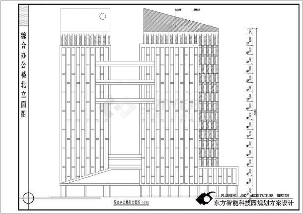 某地东方智能科技园建筑规划方案设计-图一