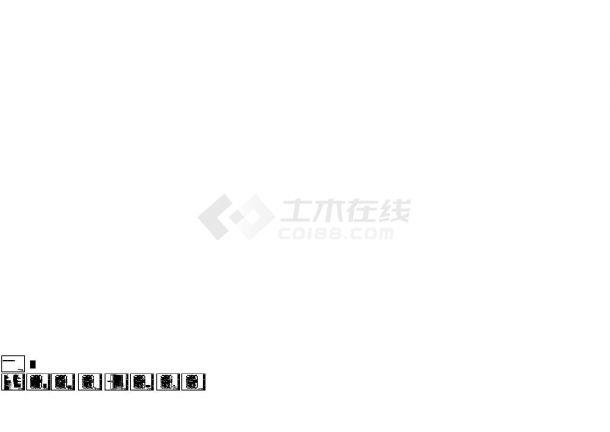 新古典上海多姆设计南京天正桃源府样板房建筑施工图(含效果图)-图一