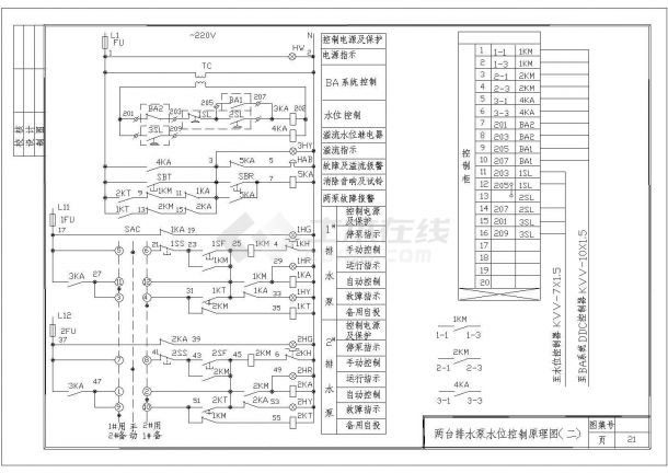 常用各种电机电气控制原理图设计大全-图一
