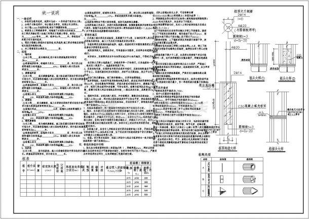 [节点详图]预应力混凝土管桩设计说明-图一