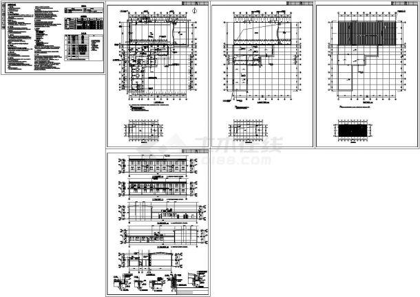 [湖南]2016年新建学生宿舍楼建筑安装工程预算书(附CAD图纸)-图一