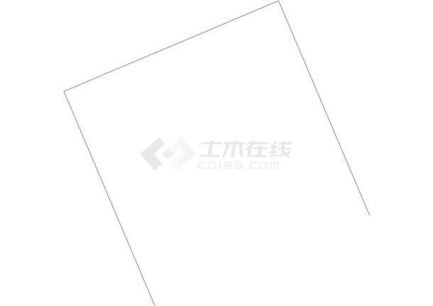 [江苏]某高档小区室外管网工程给排水设计cad施工图纸-图一