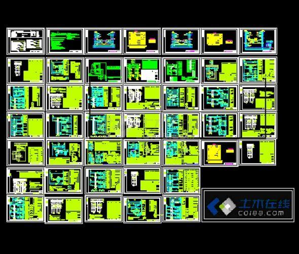 常用电气控制原理图国标建筑电气图集CAD版-图一