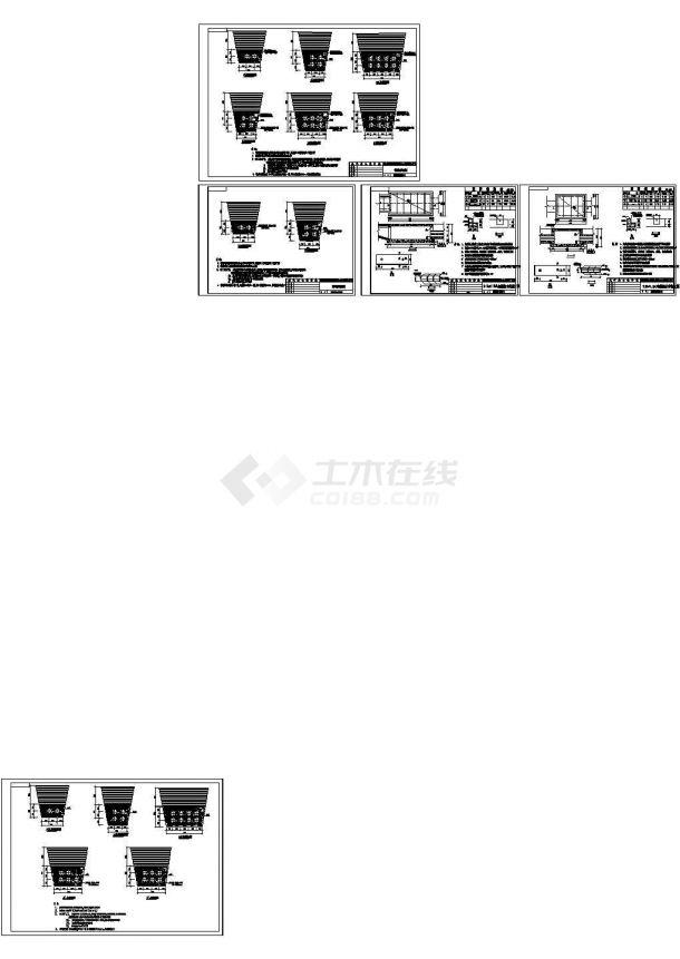 供电设计院设计10KV电缆管群图-图一