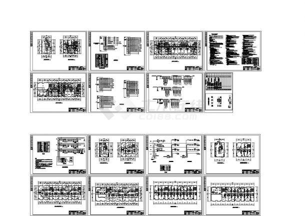 某3层宾馆建筑电气设计施工图-图一