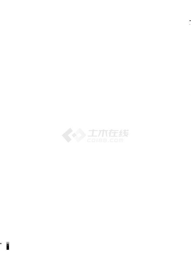 [广东]30000米市政管道给水工程给排水施工图-图一