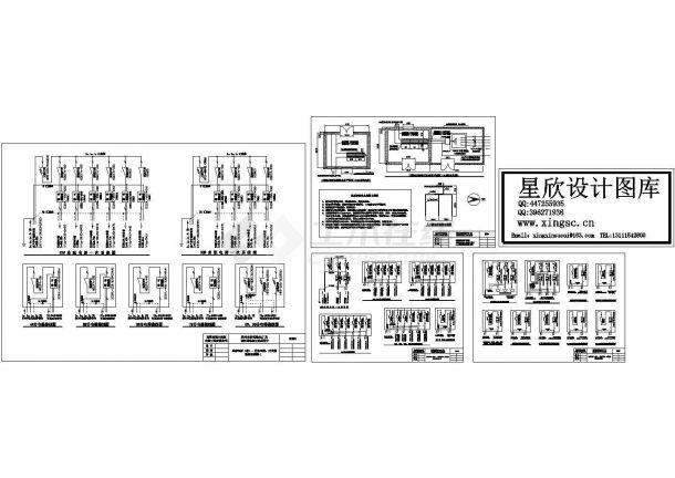 电脑厂房工程临时用电系统图-图一