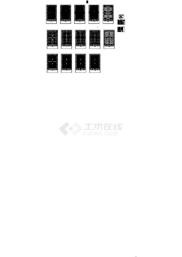 [浙江]多层商业中心空调通风排烟系统设计暖通施工图(甲级院作品)-图一