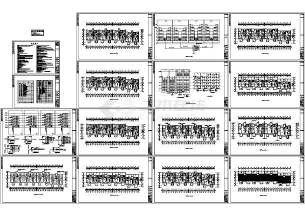 某三幢多层住宅楼电气设计施工图(144户)-图一