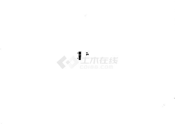 [浙江]大型商业广场通风排烟系统设计暖通施工图-图一