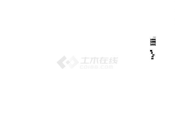 [哈尔滨]高层商业楼综合采暖通风及防排烟系统设计暖通施工图-图一