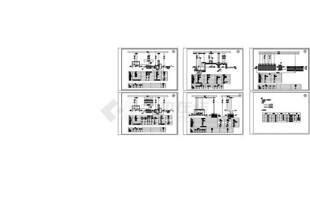 污水处理厂氧化沟工艺流程图-图一