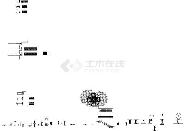 [安徽]大型商业项目室内装饰工程预算书(含图纸)-图一