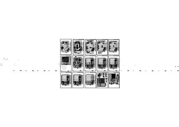 十五层住宅楼建筑施工图-图一