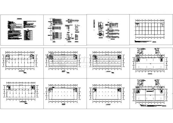 5层1263㎡工业厂房电气设计施工图-图一