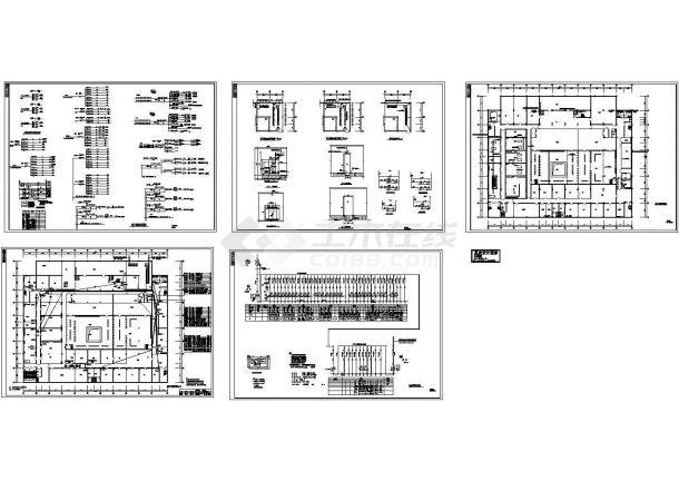 学校综合楼配电系统图-图一