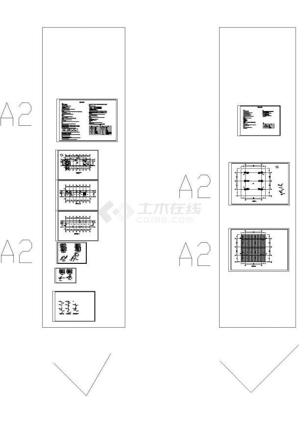 秋石机动车加油站-给排水设计图-图一